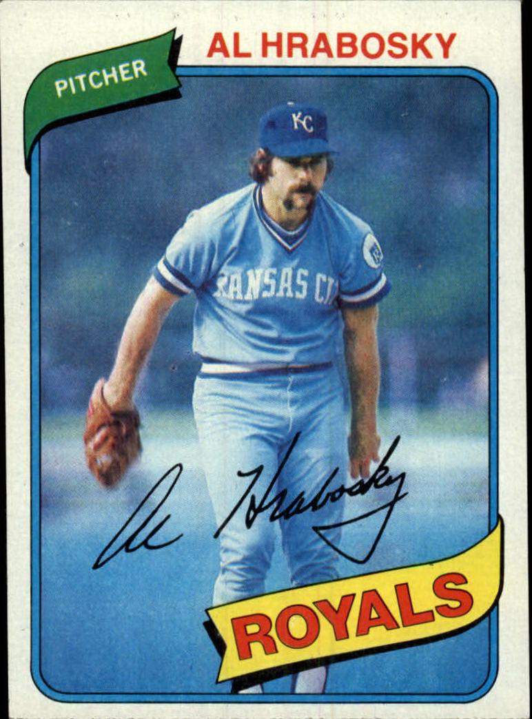 1980 Topps #585 Al Hrabosky