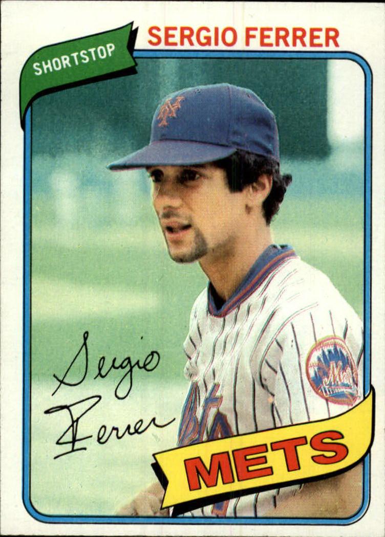1980 Topps #619 Sergio Ferrer