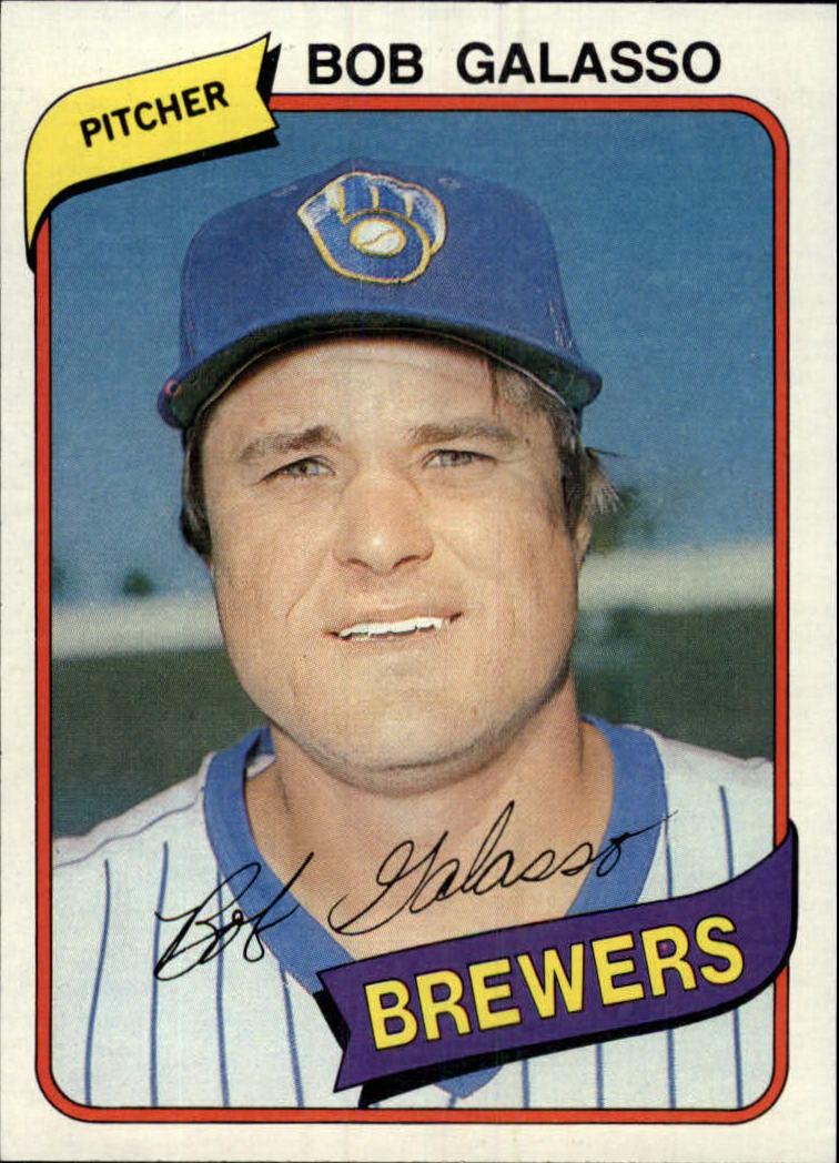 1980 Topps #711 Bob Galasso RC
