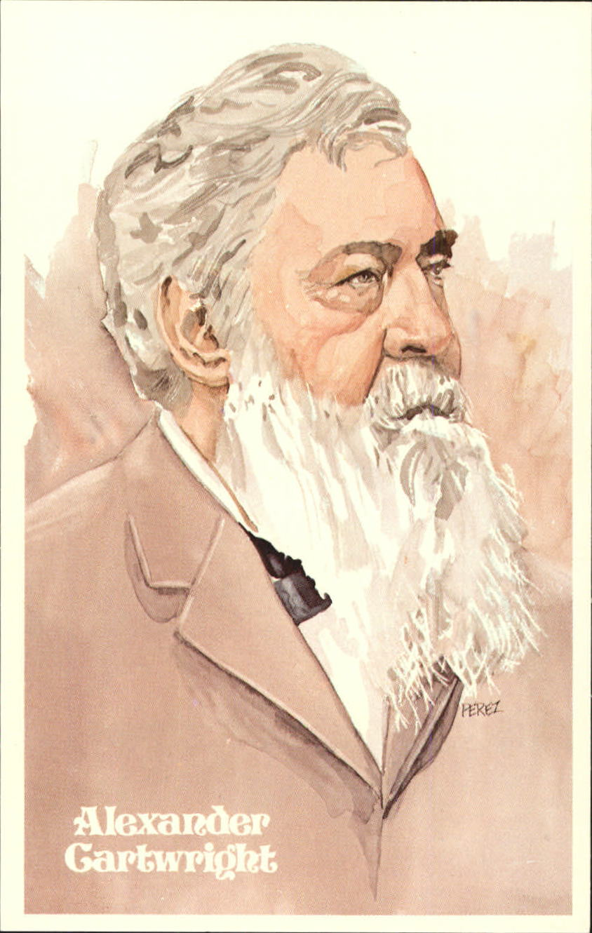 alexander j cartwright and the invention of baseball Alexander joy cartwright (1820-1892) of new york invented the modern baseball field in 1845 alexander cartwright and the members of his new york knickerbocker base ball club, devised the first rules and regulations for the modern game of baseball.