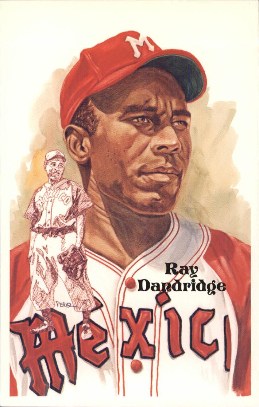 1980-02 Perez-Steele Hall of Fame Postcards #197 Ray Dandridge