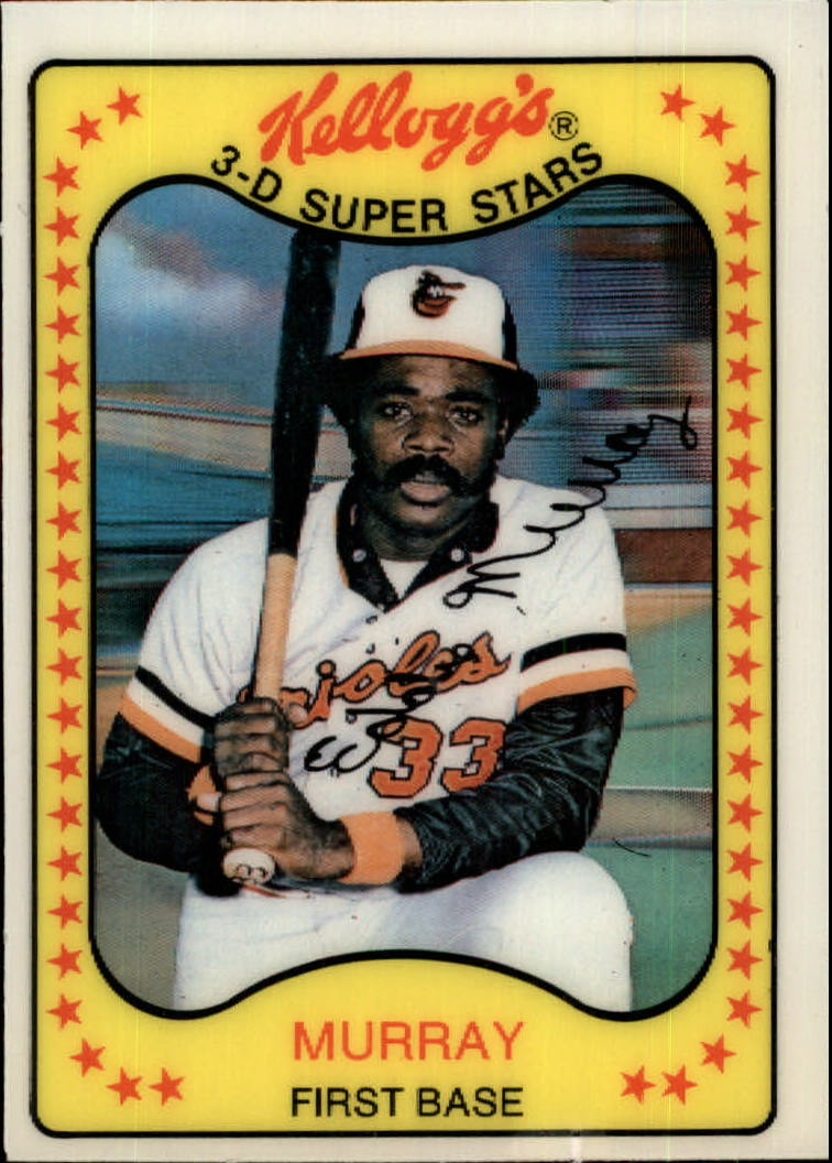 1981 Kellogg's #18 Eddie Murray