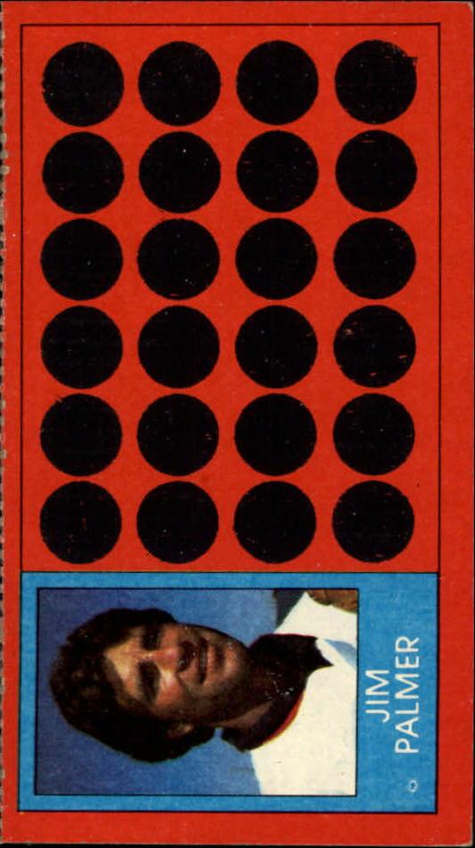1981 Topps Scratchoffs #50a Jim Palmer BSI