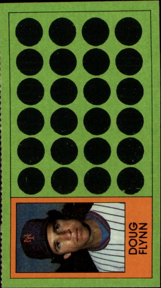 1981 Topps Scratchoffs #93a Doug Flynn Hat