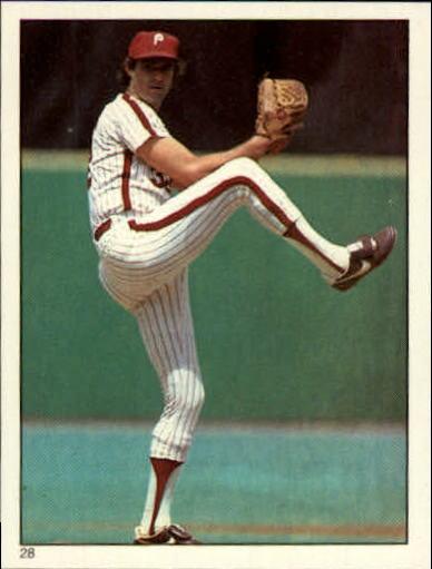 1981 Topps Stickers #28 Steve Carlton