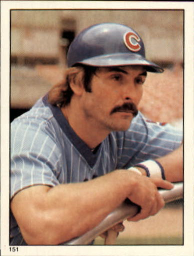 1981 Topps Stickers #151 Dave Kingman