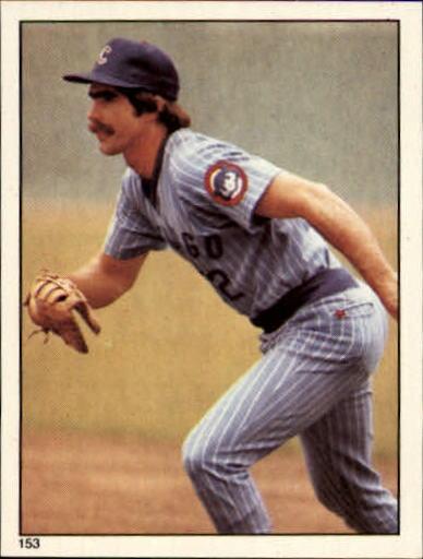 1981 Topps Stickers #153 Bill Buckner