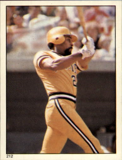 1981 Topps Stickers #212 Mike Easler