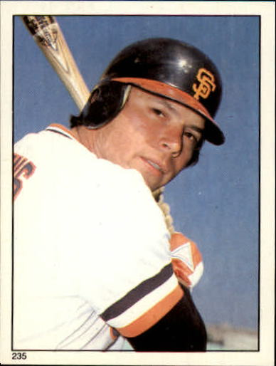1981 Topps Stickers #235 Darrell Evans