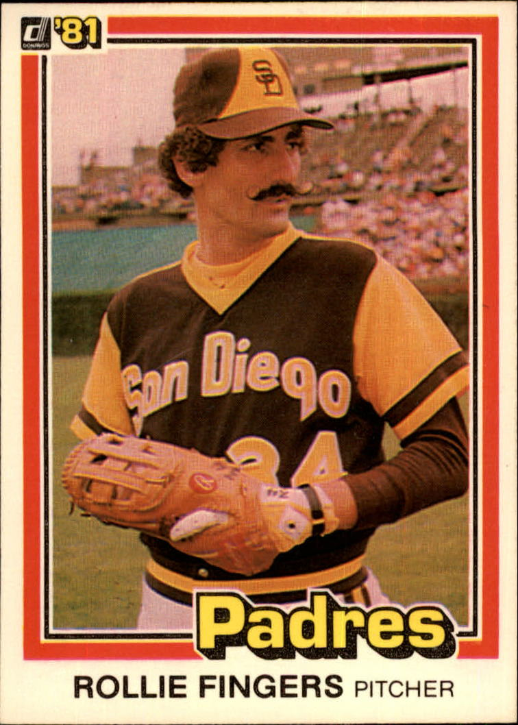1981 Donruss #2 Rollie Fingers