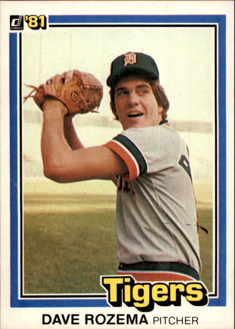 1981 Donruss #9 Dave Rozema