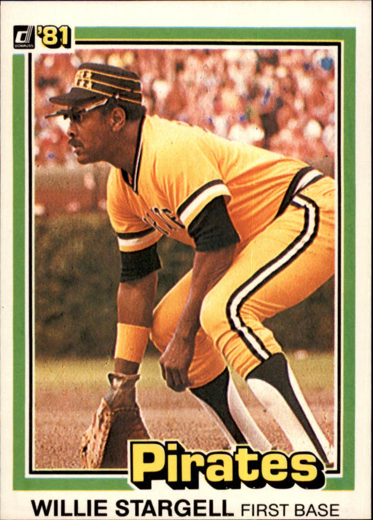 1981 Donruss #12 Willie Stargell
