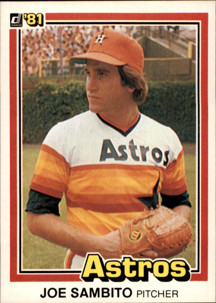 1981 Donruss #21 Joe Sambito