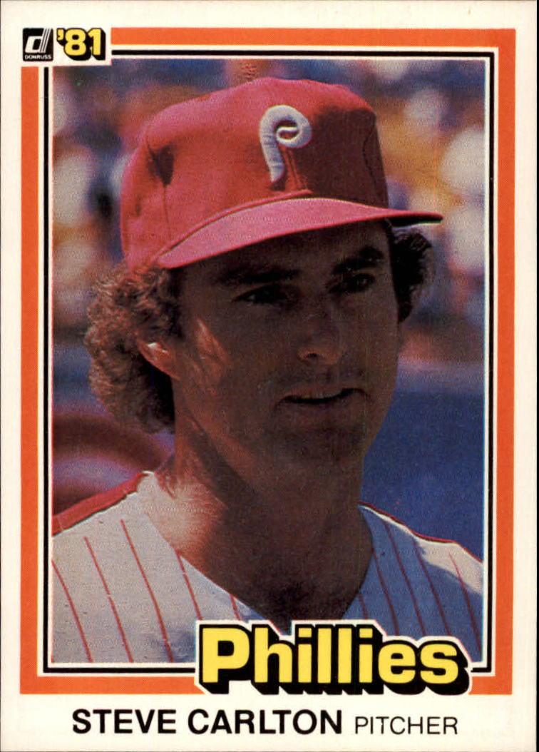 1981 Donruss #33 Steve Carlton