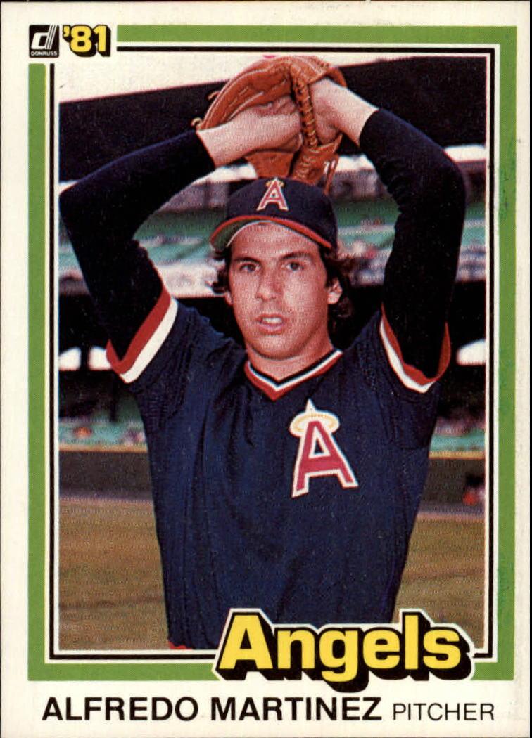 1981 Donruss #172 Alfredo Martinez RC