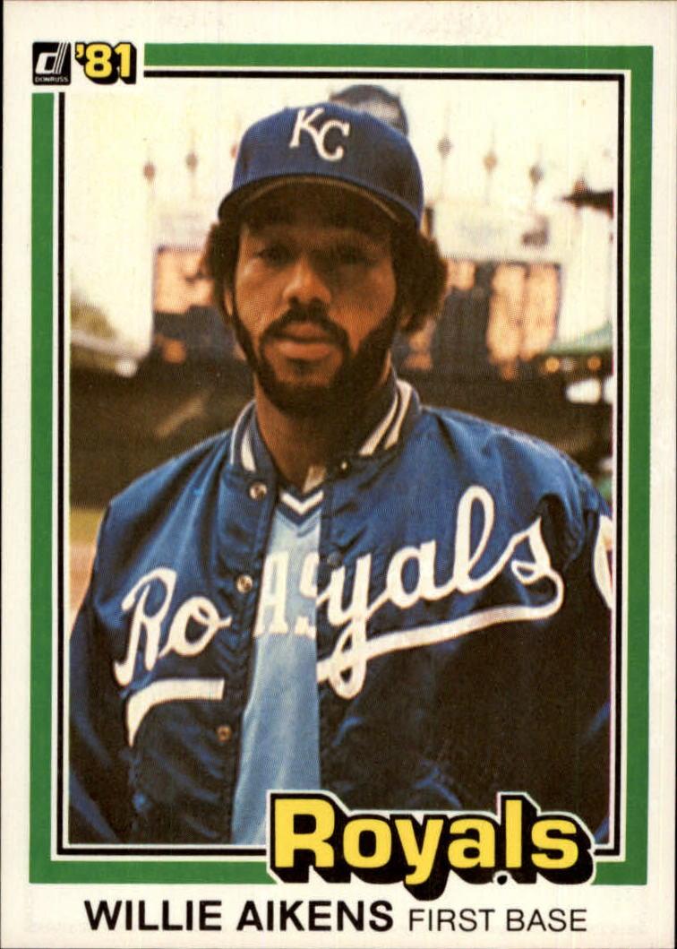 1981 Donruss #220 Willie Aikens