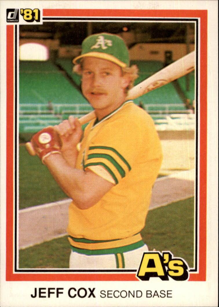 1981 Donruss #230 Jeff Cox RC