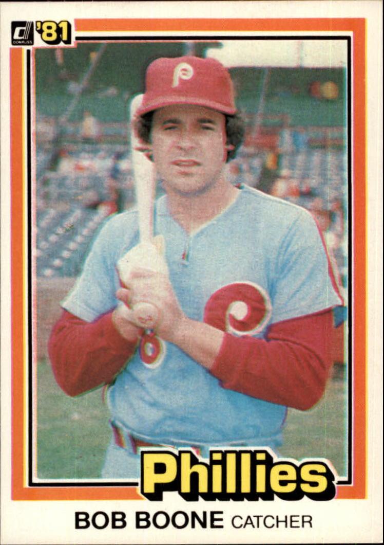 1981 Donruss #262 Bob Boone