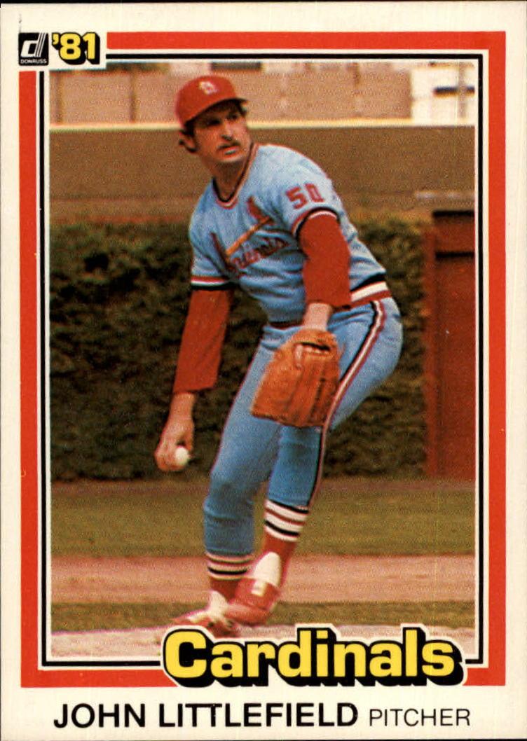 1981 Donruss #309 John Littlefield RC