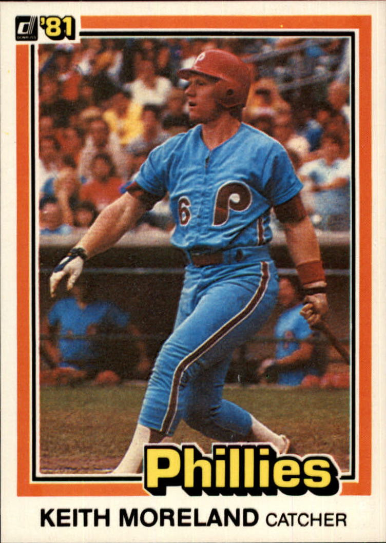 1981 Donruss #382 Keith Moreland RC