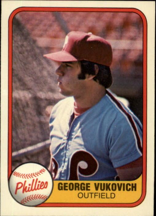 1981 Fleer #21 George Vukovich RC