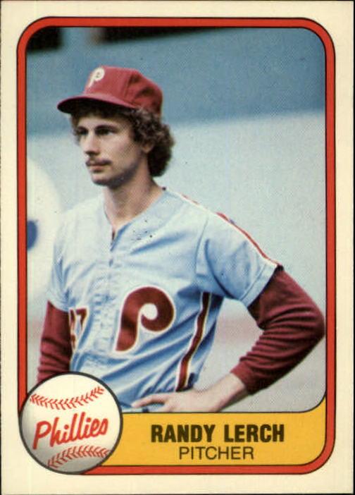 1981 Fleer #25 Randy Lerch