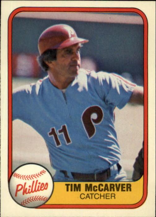 1981 Fleer #27 Tim McCarver