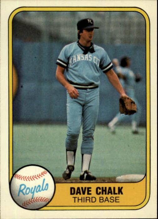 1981 Fleer #35 Dave Chalk