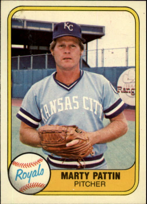 1981 Fleer #37 Marty Pattin