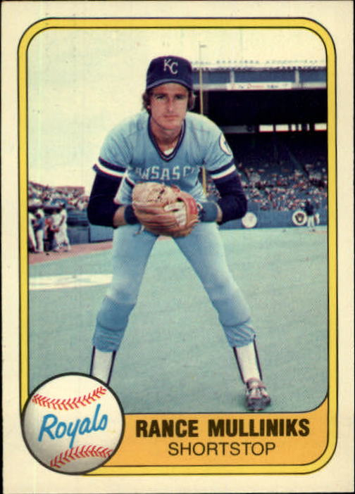 1981 Fleer #48 Rance Mulliniks