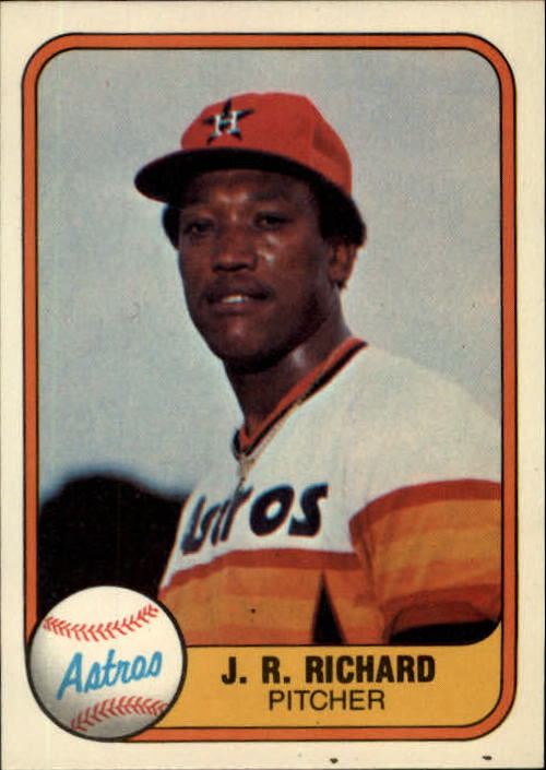 1981 Fleer #56 J.R. Richard
