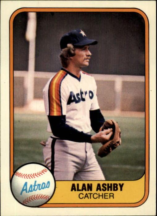 1981 Fleer #64 Alan Ashby