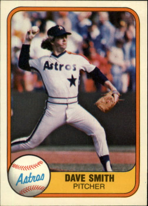 1981 Fleer #71 Dave Smith RC