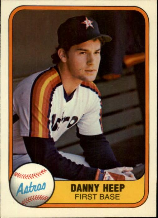 1981 Fleer #72 Danny Heep RC