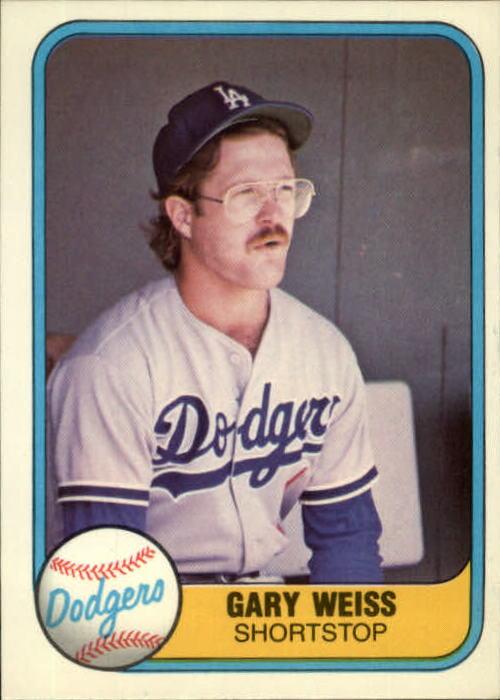 1981 Fleer #130 Gary Weiss RC