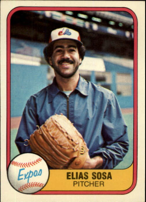 1981 Fleer #151 Elias Sosa