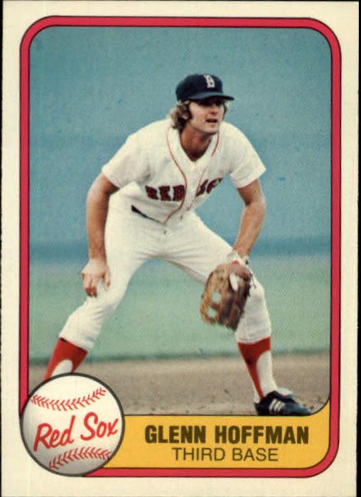 1981 Fleer #237 Glenn Hoffman RC