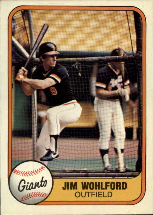 1981 Fleer #440 Jim Wohlford