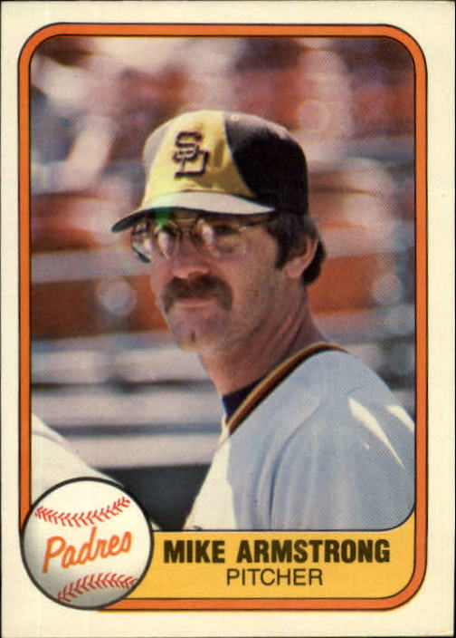 1981 Fleer #503 Mike Armstrong RC