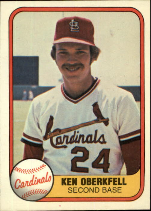 1981 Fleer #532 Ken Oberkfell