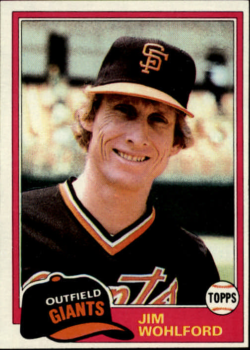 1981 Topps #11 Jim Wohlford DP