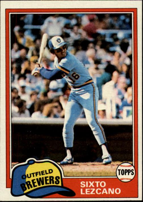 1981 Topps #25 Sixto Lezcano