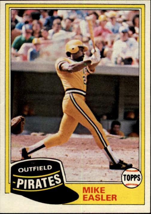 1981 Topps #92 Mike Easler