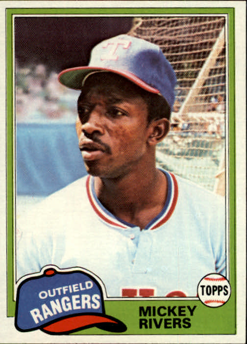 1981 Topps #145 Mickey Rivers