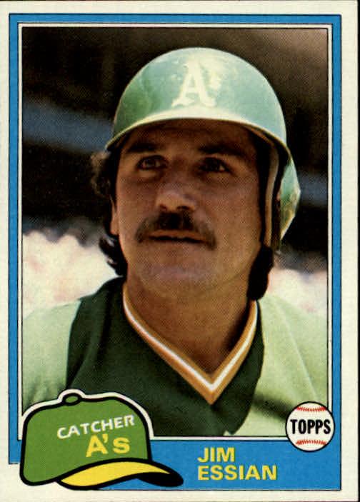 1981 Topps #178 Jim Essian DP