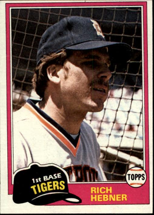 1981 Topps #217 Rich Hebner