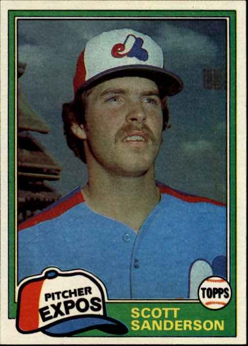 1981 Topps #235 Scott Sanderson