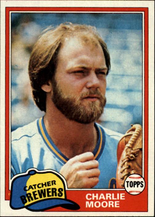 1981 Topps #237 Charlie Moore