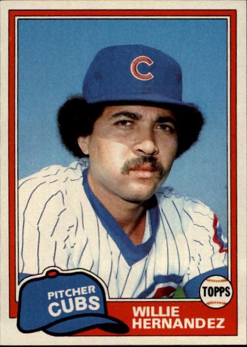 1981 Topps #238 Willie Hernandez