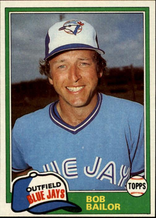 1981 Topps #297 Bob Bailor